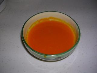 前菜のかぼちゃのスープ