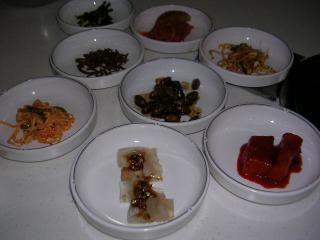 前菜の品々