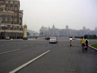 星海広場から濱海路へ