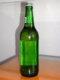黒獅ビール裏側