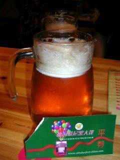 ドイツ館ピッチャービール