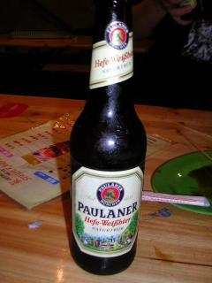 別注文のドイツ黒ビール