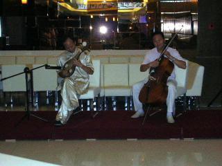 伝統楽器演奏