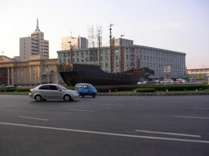 港湾広場 鄭和宝船