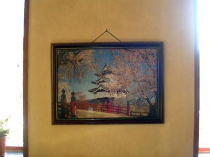 桜が美しい弘前城