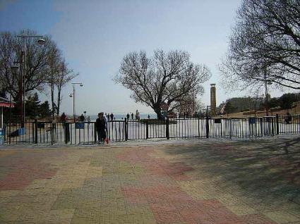 星海公園入り口