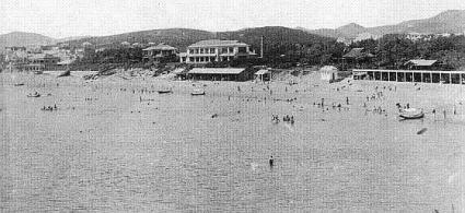戦前の星ヶ浦海水浴場