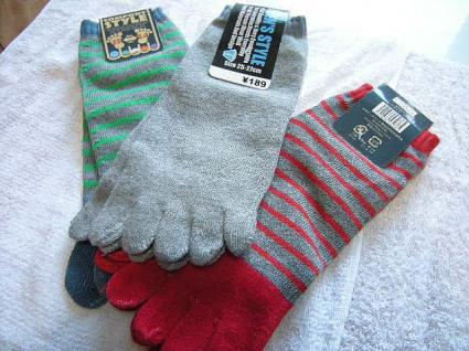 5本指 靴下