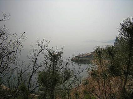 滨海路から見る黄海