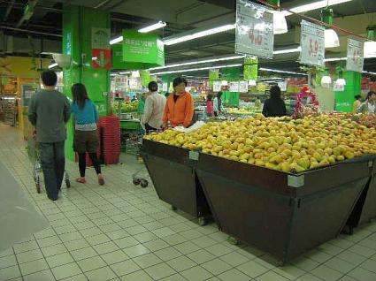 食品売り場(果物)