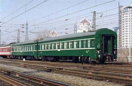 北朝鮮へ入国する国際列車