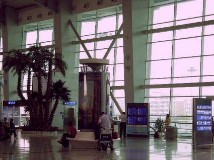 大連周水子国際空港3