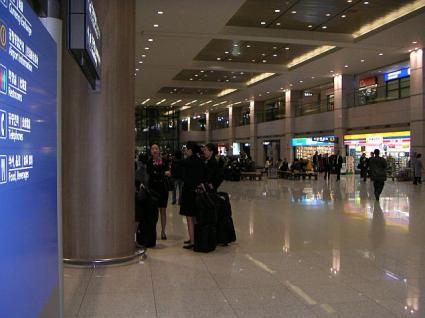 韓国仁川国際空港
