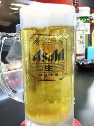 パッキンキン生ビール