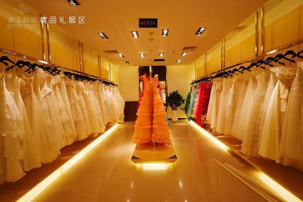 ソフィーウェンディドレスの衣装室