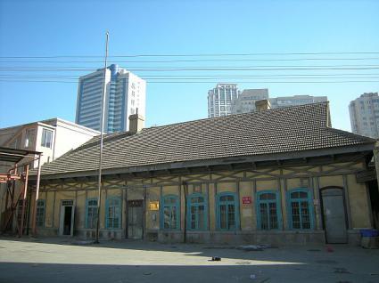 旧大連駅の駅舎全体の様子