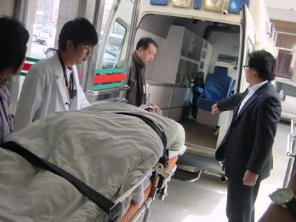 大連から岡山への移送