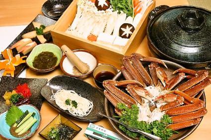 日本料理 徳川 カニシャブ鍋