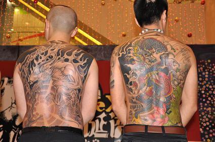 刺青(タトゥー)