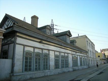 フォーム側からの旧大連駅