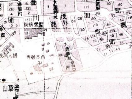 大連神社周辺古地図