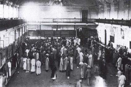 旧大連取引所 内部の様子