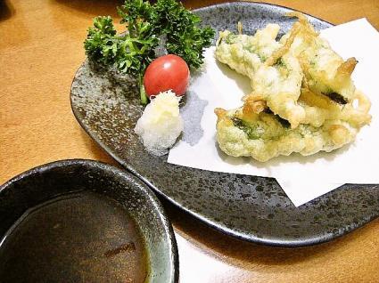 オクラの天ぷら