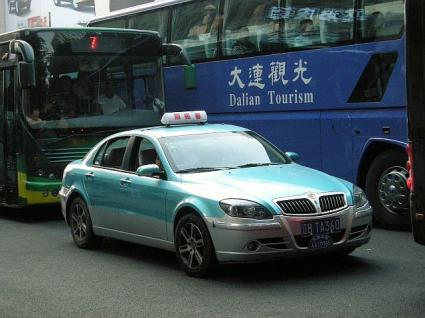 大連のタクシー事情