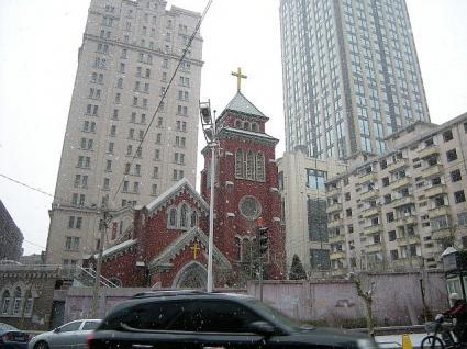 玉光街礼拝堂(旧大連聖公会教会)