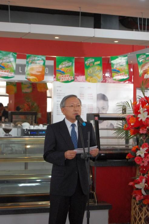 在瀋陽日本総領事大連出張駐在官事務所の川田所長