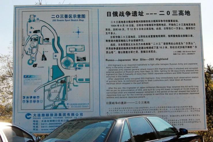 二〇三高地観光ガイド