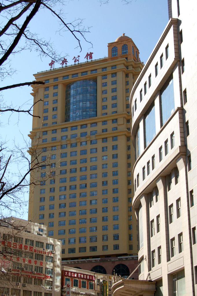 福福中国語教室がある中央公館