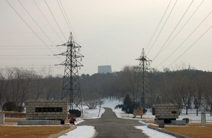 砲台山公園北門