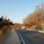 舗装された道路を利用すれば20分ほどで入り口まで到着できる