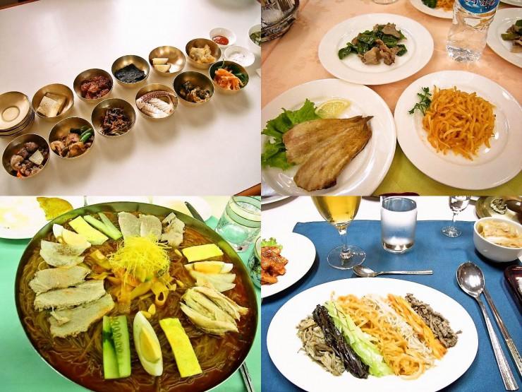 平壌冷麺や古都開城での旧宮廷料理