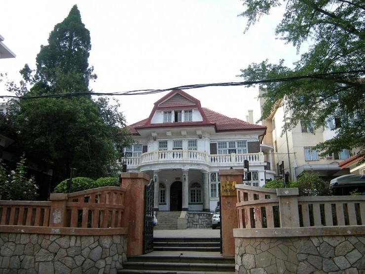 張宗昌旧別荘