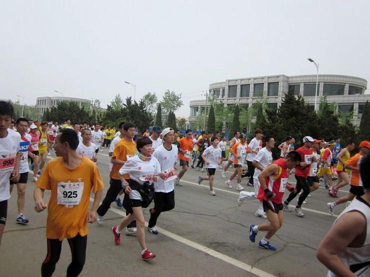 大連国際マラソン