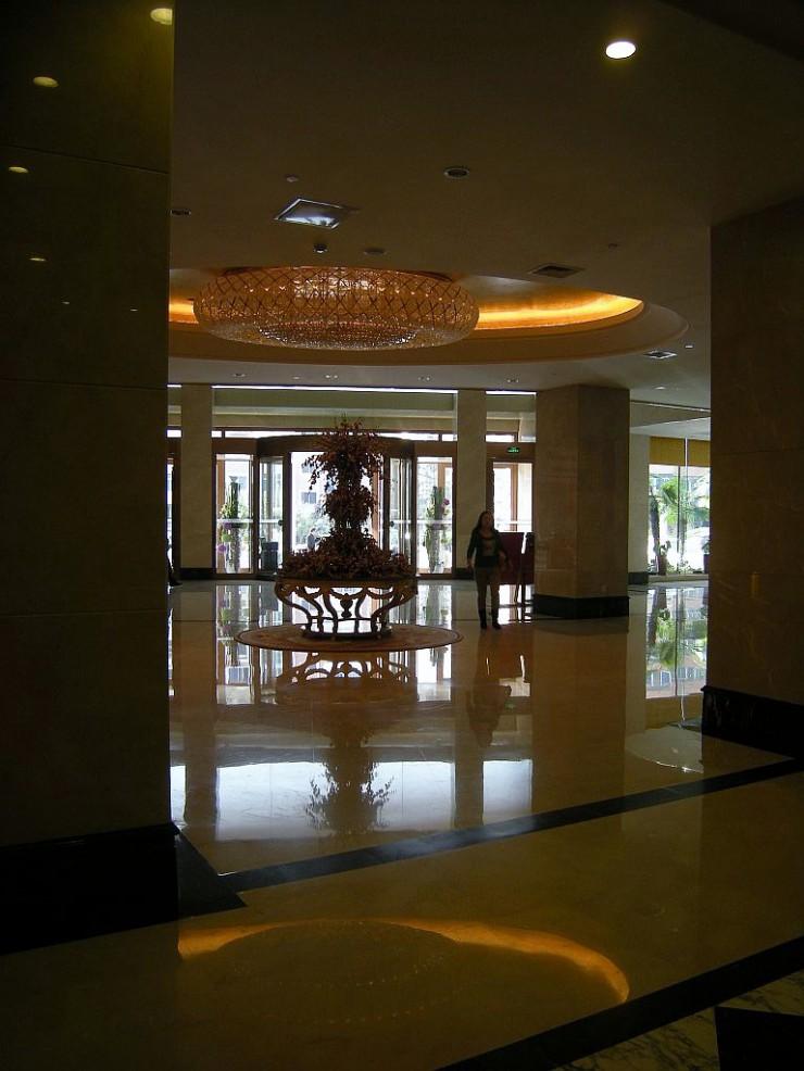 大連国際空港ホテル1階エントランス