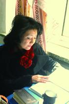 中国語を勉強する寺嶋さん