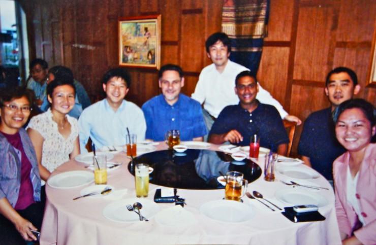 DELLのミーティングがマレーシアで開かれた時の食事会