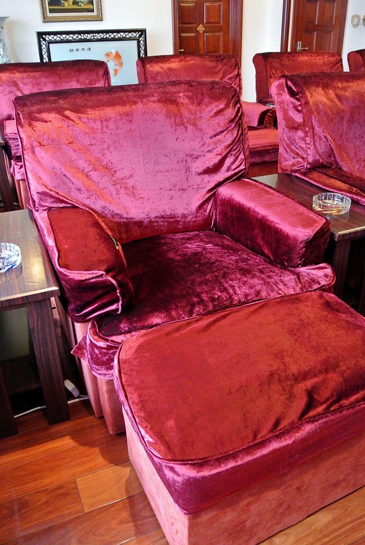 足裏マッサージ専用の椅子