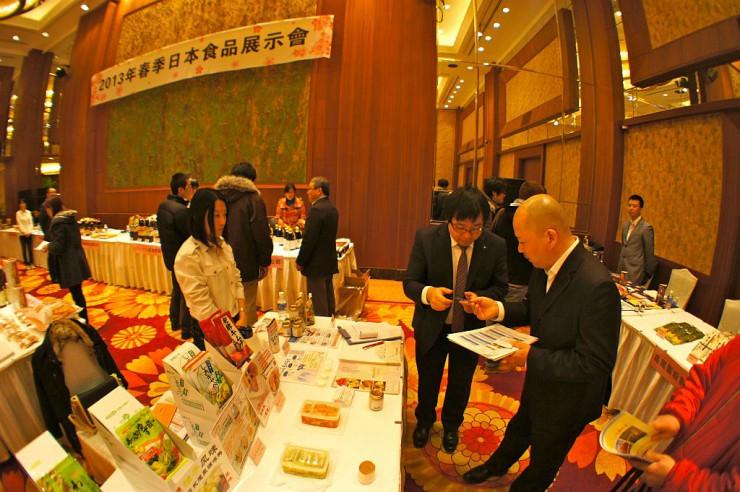 来場者の関心が高かった春季日本食品展示会