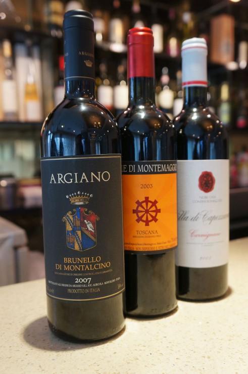 松岡さんが絶賛するイタリア中部のトスカーナ州の赤ワイン