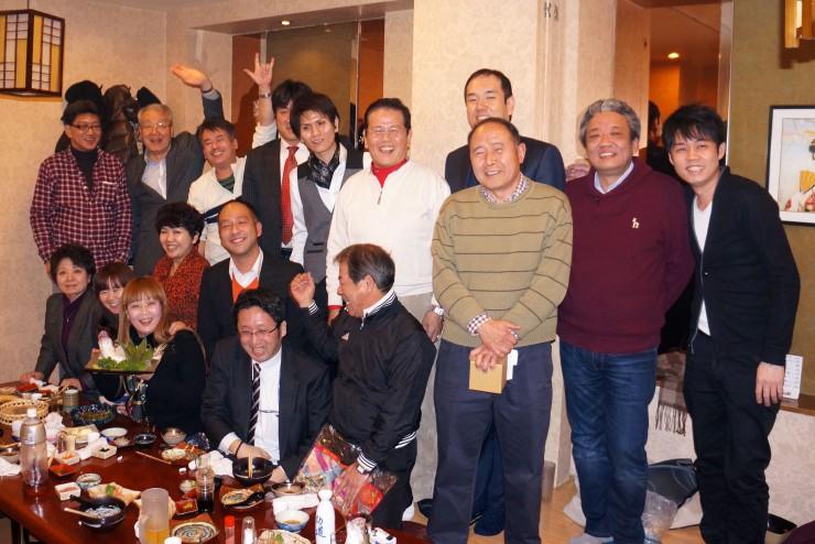 大連岐阜県人会の新忘年会で