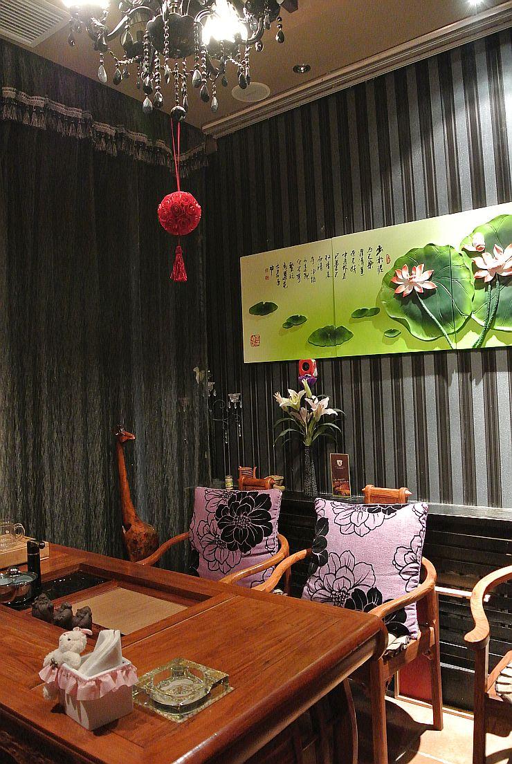 茶店のような雰囲気の席も