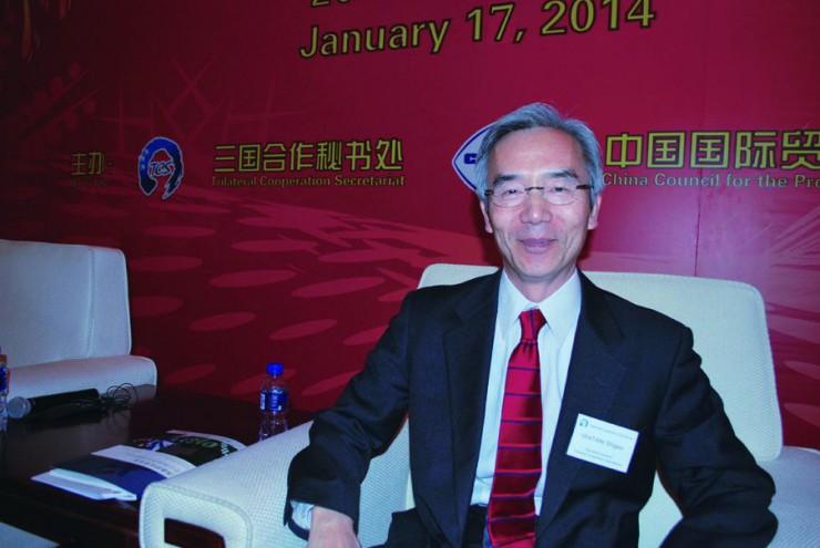 日中韓三国協力事務局 事務局長 岩谷 滋雄さん iwatani shigeo