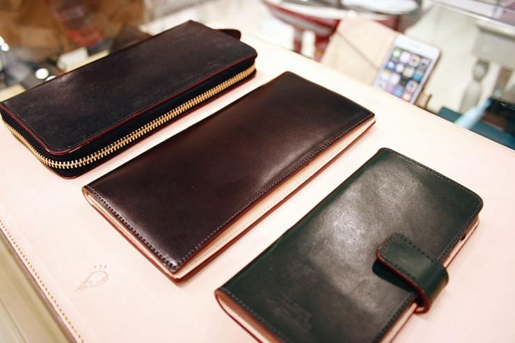 大連で販売される「FATE」ブランドの革製品
