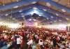 期間中に150万人が入場した昨年のビール祭