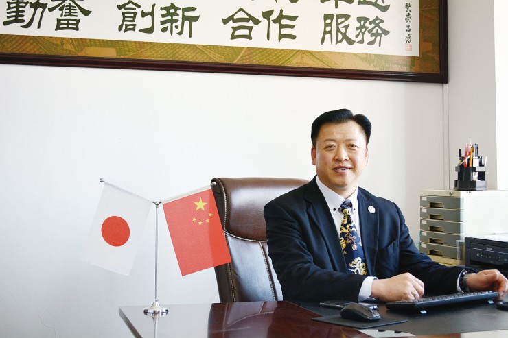 大連市中日経済合作交流協会 徐 朝法さん xu chaofa