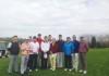 初の懇親ゴルフ会に参加した日本と台湾の企業関係者